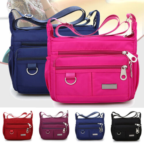 Women Ladies Messenger Bags Waterproof Nylon Handbag Shoulder Crossbody Bag 2019