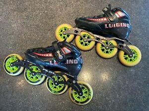 Luigino-Attitude-Men-039-s-7-39-with-Pilot-Frame-12-8-4x105-Speed-Skates