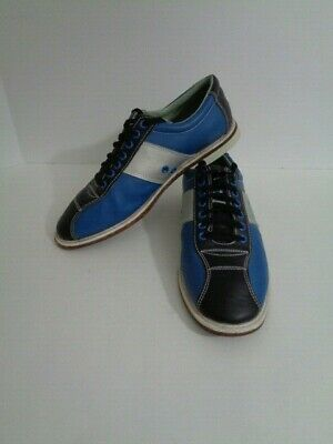 LINDS Silver Blue Rental Bowling Alley Shoes ILLUMINATOR ...