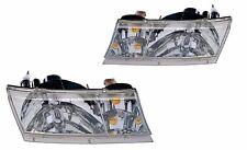 NEWMAR MOUNTAIN AIRE 37FT 2000 2001 PAIR HEADLIGHTS HEAD LIGHTS LAMPS RV - SET