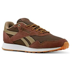 Homme-Chaussures-Reebok-Royal-Ultra-Baskets-en-daim-marron-CN3048-Ortholite-pointure-12