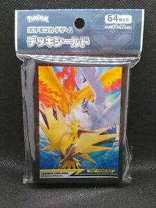 Pokemon card SM10b Moltres Zapdos Articuno Deck shield 64 sheets Japanese