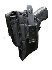 Nylon Belt Gun Holster For Glock 17,19,22,20,21,31,33 With Tactical Light