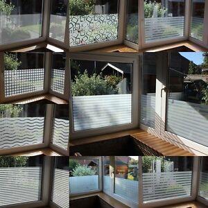 6 58 m fensterfolie milchglas sichtschutz folien. Black Bedroom Furniture Sets. Home Design Ideas
