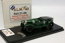 SLM 43 Factory Built 1/43 - Lorraine Dietrich  Le Mans 1926 n°06