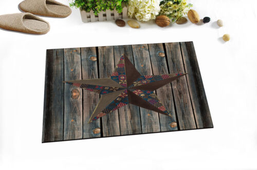 Creative Bath Western Texas Star Polyester Bathroom Shower Curtain 60//72//79 Inch