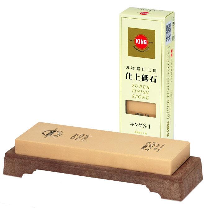King Super Finish Whetstone Sharpening Honing Stone 6000 6000 6000 Grit  S-1 Made in Japan ebfdfd