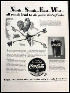1941-Coke-Coca-Cola-Soda-Vintage-Advertisement-Print-Art-Ad-Poster-LG87