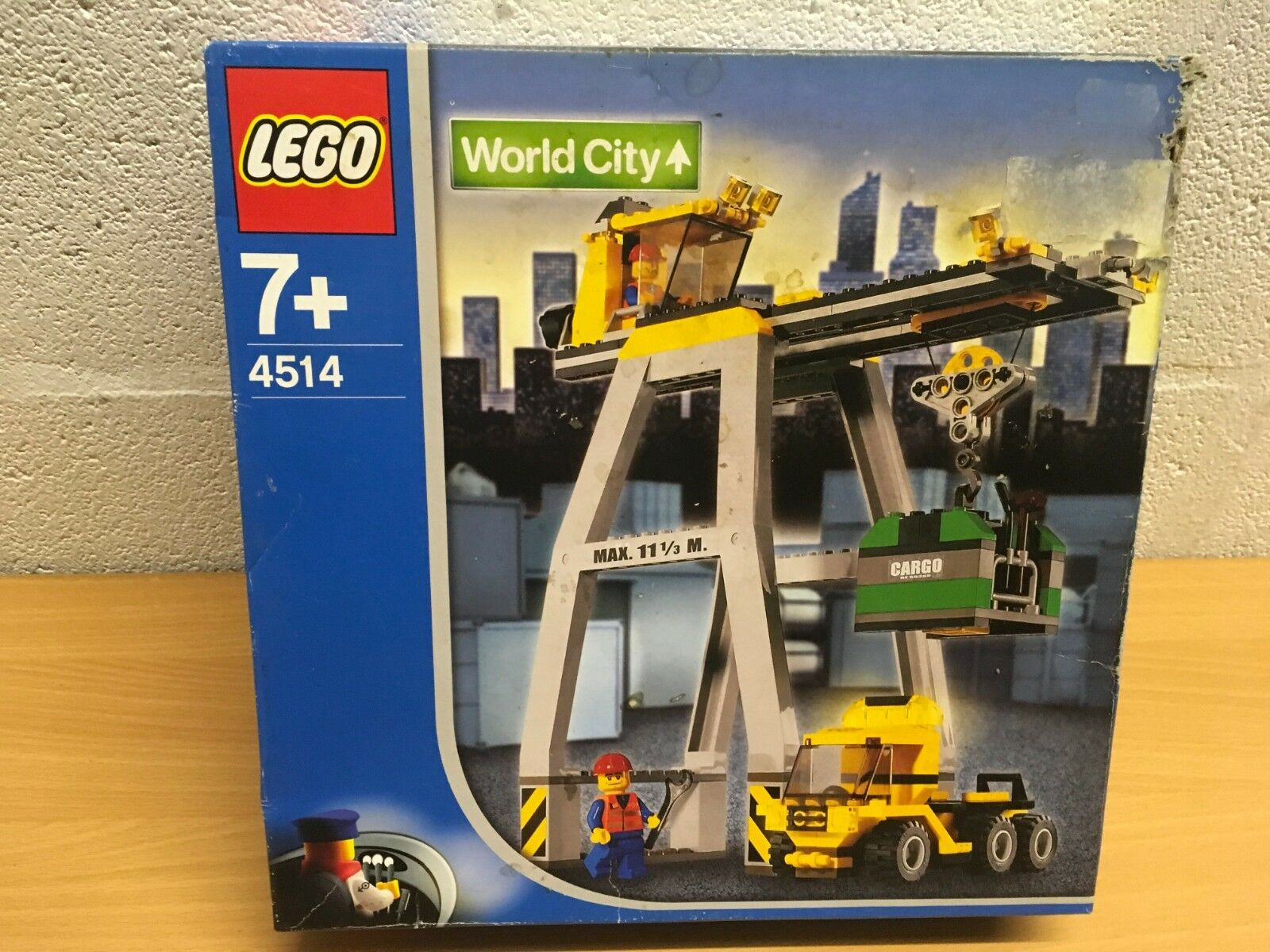 LEGO Trains Cargo Crane (4514) WORLD CITY NEW SEALED RARE