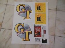 GOLDEN TEE FORE  STICKER SET  NOS  arcade game part