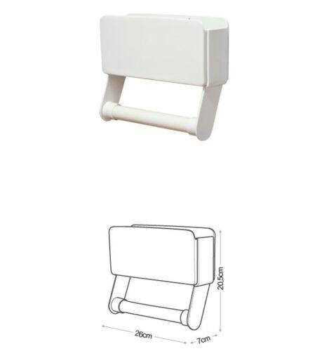 Magnetic Wall Mount Made in Korea Kitchen Paper Towel Holder /& Storage Rack
