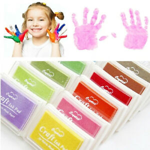 Child-Craft-Oil-Based-DIY-Ink-Pad-Rubber-Stamps-Fabric-Wood-Paper-Scrapbooking-Y