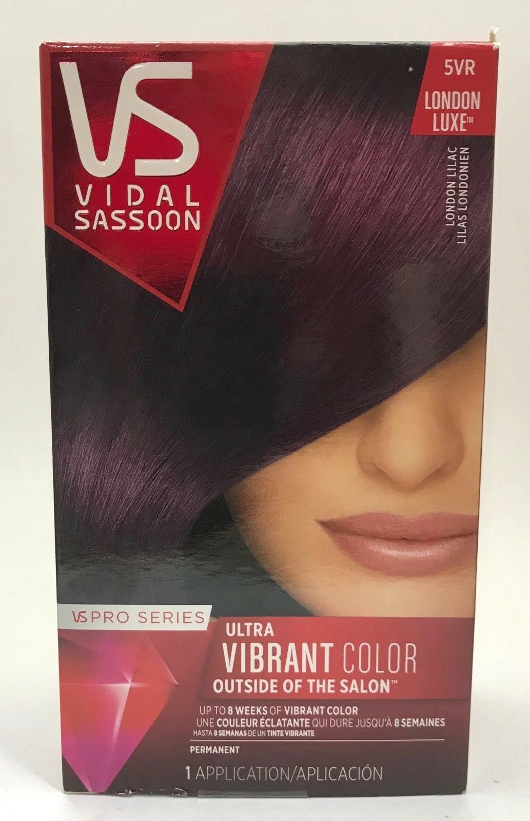 Vidal Sassoon Pro Series 5vr London Lilac 1 Ct Ebay