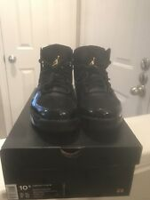 Air Jordan Flight Club  91 BB Shoes Black Metallic Gld 555475 031 Size 10.5 29e1f314b