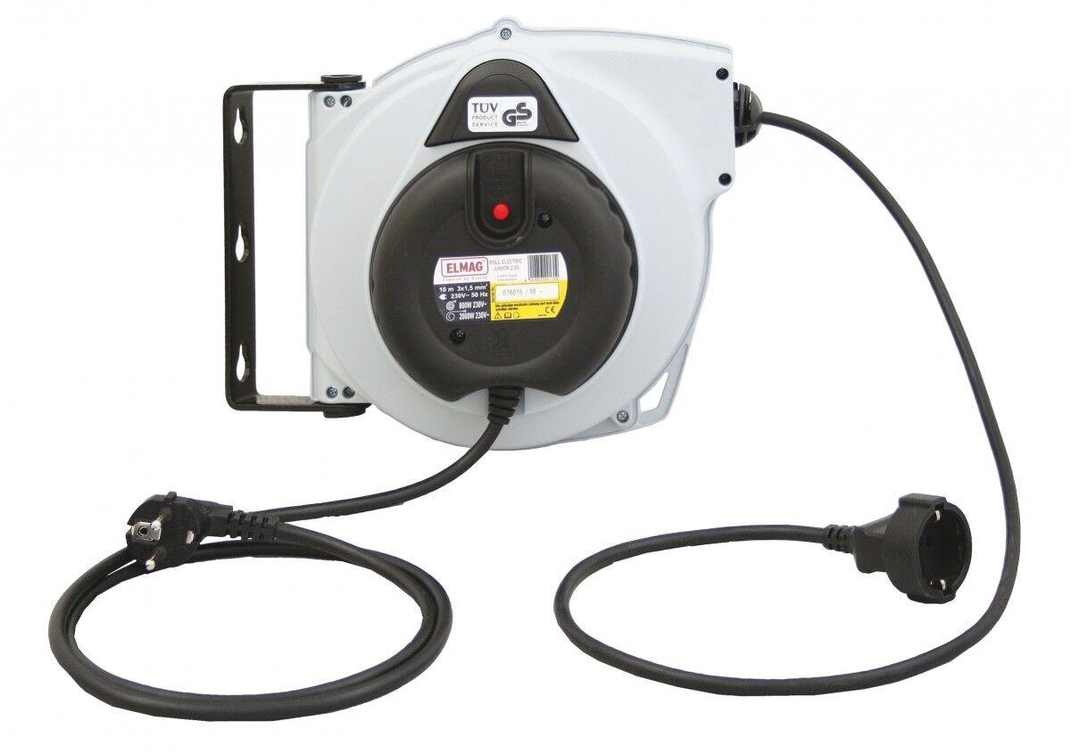 Elmag Automatischer Kabelaufroller Roll Electric Junior 230/10 Elektro Neuware