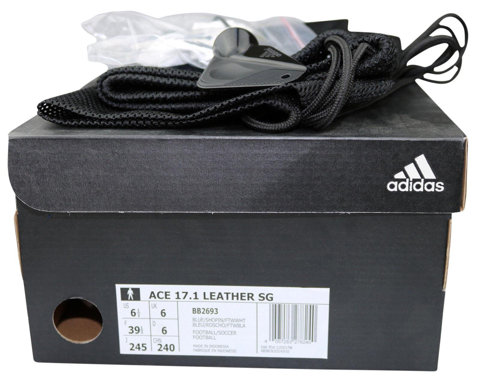 Adidas ACE 17.1 17.1 17.1 SG Fußballschuhe BB2693 Leder Stollen Gr. 39 - 48 2 3 NEU & OVP 8cdc00