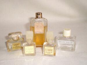 Anciens 5 De Lesourd Patou Détails Échantillons Parfum Sur Fath Bourjois SqUMVzpG
