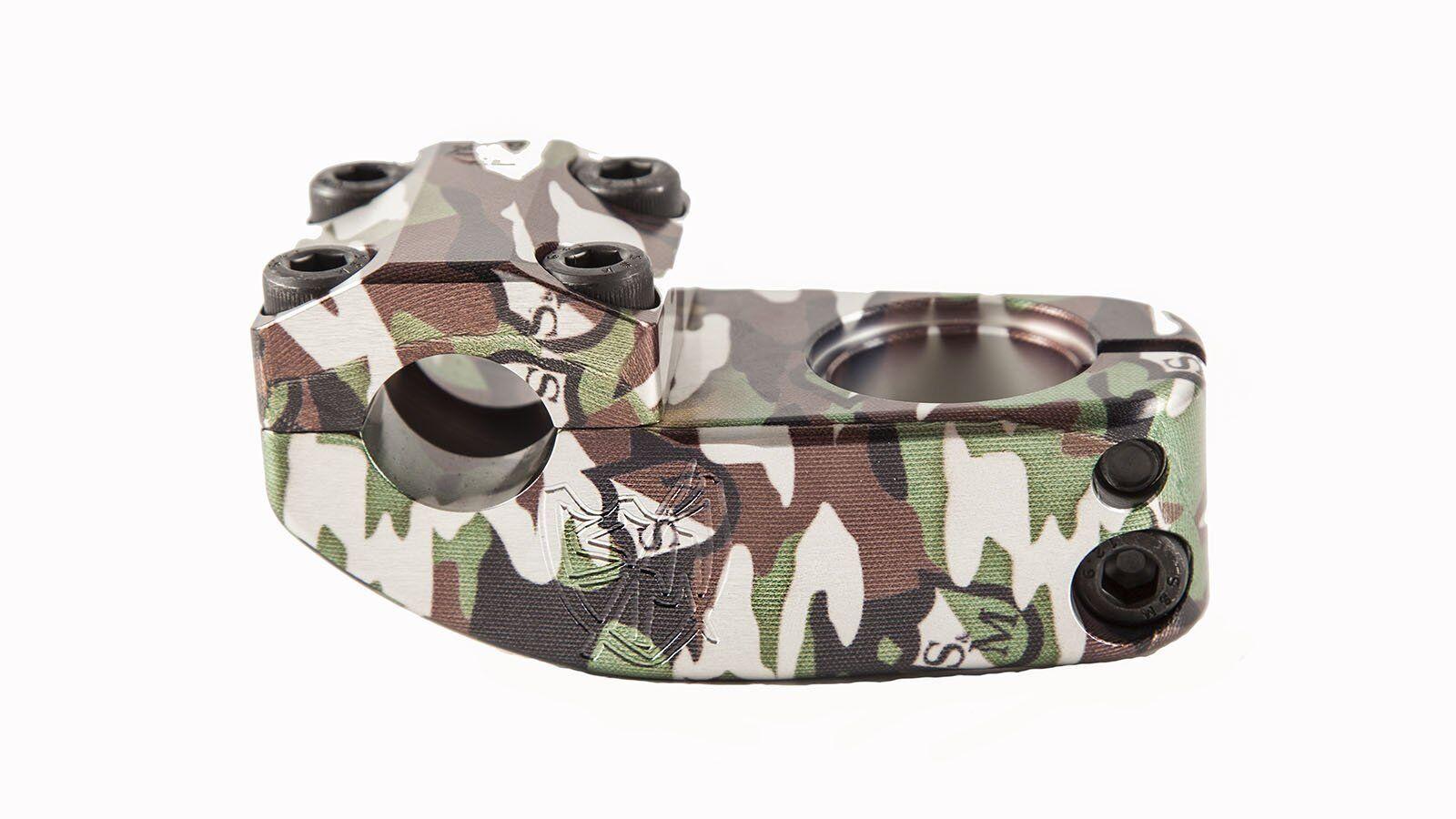 S&M Enduro v2 BMX Stem - Camo Shield Wrap