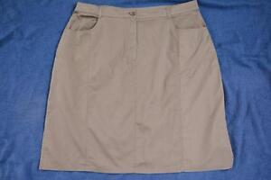 Black-Pepper-Khaki-Skirt-NEW-SIZE-20-GR8-QUALITY-Quality-Cotton-Fabric-NEW