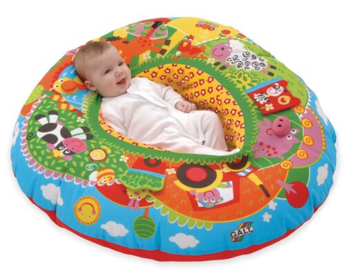 Galt PLAYNEST FARM Baby//Toddler//Child Playset Play Mat Soft Toy Safety BN