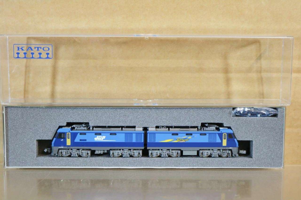 KATO 3045 JR JRF azul CLASS EH200 ELECTRIC LOCOMOTIVE MINT BOXED nr