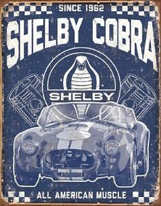 Image Is Loading Shelby Cobra All American Muscle Car Decor Since