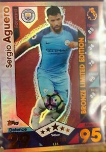 match attax limited edition bronze sergio aguero - London, United Kingdom - match attax limited edition bronze sergio aguero - London, United Kingdom