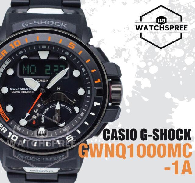 Casio G-Shock GULFMASTER Collection Watch GWNQ1000MC-1A GWN-Q1000MC-1A