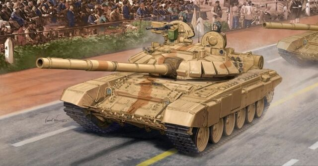 Trumpeter 05561 1/35th scale - Indian T-90S MBT + Aluminium Barrel