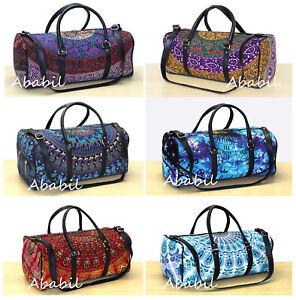 New Indian Duffle Sports Gym Bag Unisex DuffleTravel Bags Multipurpose Handbags