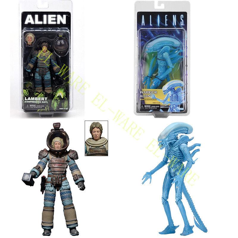 NECA Aliens Séries 11 Lambert bleu Xenomorph 7  PVC Action Figure Collection NEW