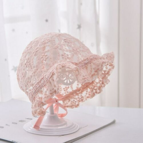 Cute Newborn Baby Hat Photography Props Flower Summer Girl Sun Hat Bonnet Caps