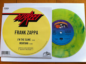 Frank Zappa I M The Slime Montana Uk 2013 7 Quot New Rsd
