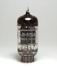 General Electric jg-5814a/5814 a/e82cc Audio-TUBO, Triple mica, preamp tube