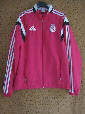 Veste Adidas Real Madrid rose Homme Football Jacket Vintage S | eBay