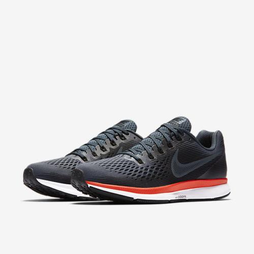 Mens Nike Air Zoom Pegasus 34 880555-403 bluee Fox Black NEW Size 11.5