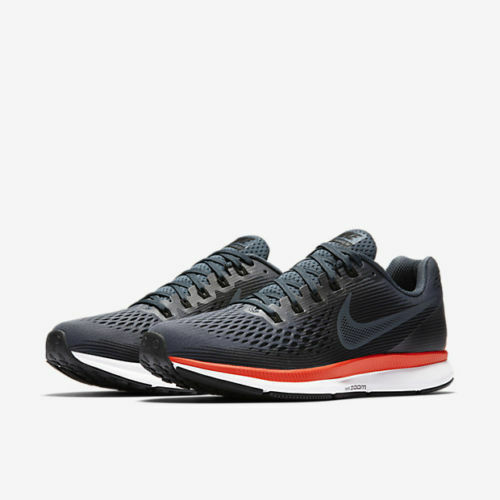 c312f70d62449 Nike Air Zoom Pegasus 34 Mens Running Shoes 10 Blue Fox Crimson Black  880555 403 for sale online