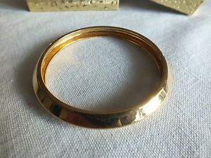 a6ac02ff92f2e Details about Collectible Bangle Bracelet Gold Tone 3/8