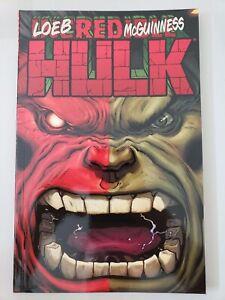 HULK-RED-HULK-TPB-Vol-1-2009-MARVEL-COMICS-ED-McGUINNESS-JEPH-LOEB-UNREAD