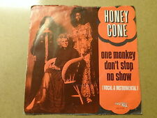 "SINGLE 7"" / HONEY CONE: ONE MONKEY DON'T STOP NO SHOW (HOT WAX, NETHERLANDS)"