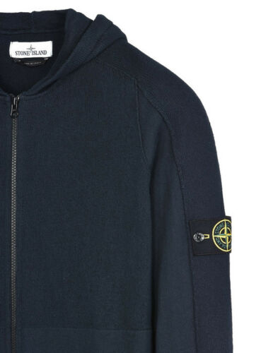 Knit Bnwt In Hooded Cardigan Stone Island Navy WCtU0
