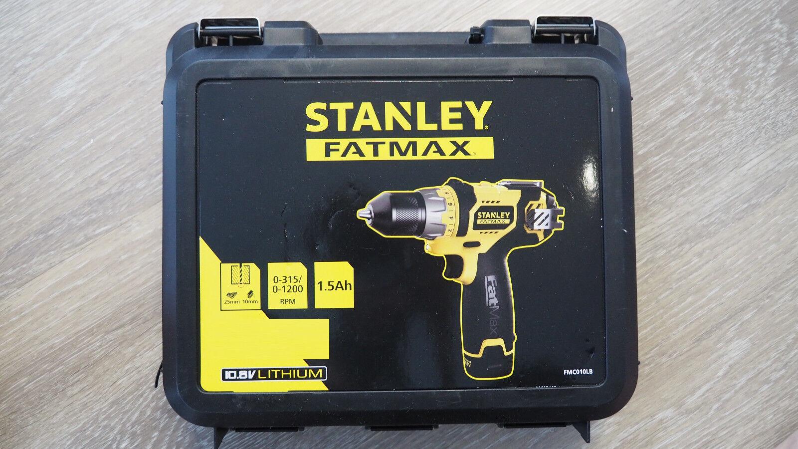 Stanley FMC010LB Fatmax 10,8V Akkuschrauber