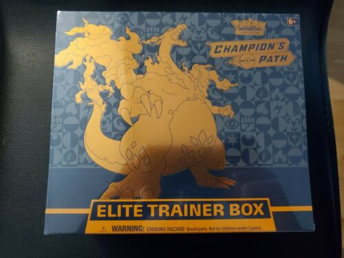 Pokemon Champion/'s Path Elite Trainer Box 10 booster packs /& much more