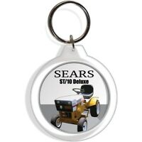 Sears Garden Farm Tractor Keychain Key Chain Ring Suburban St 10 Deluxe