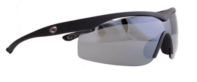 be3a815dc4 Gargoyles Sunglasses Intimidator Black Smoke Ballistic Defense Lens (new)