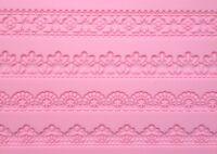 Large 4 Design Lace Cake Chocolate Silicone Mold Cupcake Wedding Baking Candy