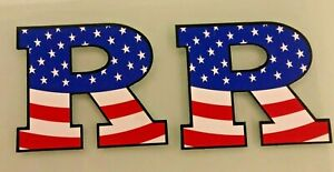 RUTGERS BASKETBALL MAGNET LOT 2X - AMERICAN FLAG - SALUTE TO SERVICE - MILITARY