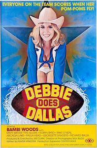 Debbie Does Dallas 1978 Movie Poster