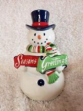 St Nicholas Square  Seahorse Heart Season/'s Tidings Christmas Ornament NEW