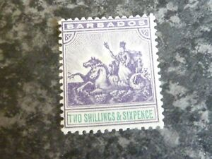 BARBADOS-POSTAGE-STAMP-SG144-2-6D-VERY-LIGHTLY-MOUNTED-MINT